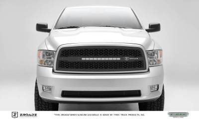 Dodge Ram 1500 - ZROADZ Series - Main Insert - Grille w/ One 20 Inch Slim Line Single Row LED Light Bar - Includes Universal Wiring Harness - Part# Z314571