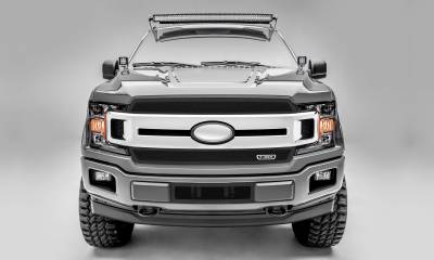 T-REX Grilles - T-REX Ford F-150 - Upper Class Series - 2 PC Main Grille Overlay / Insert with Black Powdercoat Finish - Pt # 51711