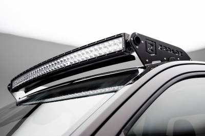 ZROADZ - 2015-2019 Colorado, Canyon Front Roof LED Kit, Incl. (1) 40 Inch LED Curved Double Row Light Bar - PN #Z332671-KIT-C