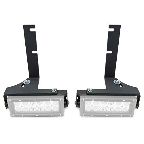 ZROADZ - 2014-2018 Silverado, Sierra 1500 Rear Bumper LED Bracket to mount (2) 6 Inch Straight Light Bar - PN #Z382082