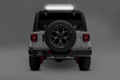 ZROADZ - 2018-2019 Jeep JL Rear Window LED Kit, Incl. (1) 30 Inch LED Straight Single Row Slim Light Bar - PN #Z394931-KIT