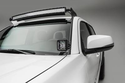 ZROADZ - 2016-2021 Toyota Tacoma Hood Hinge LED Kit with (2) 3 Inch LED Pod Lights - PN #Z369401-KIT2