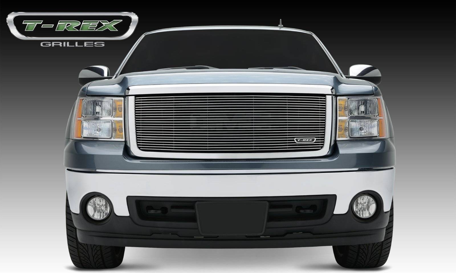 T-REX GMC Sierra All Terrain Package Billet Grille Insert Fits All Terrain Trim Package Only - Pt # 20204