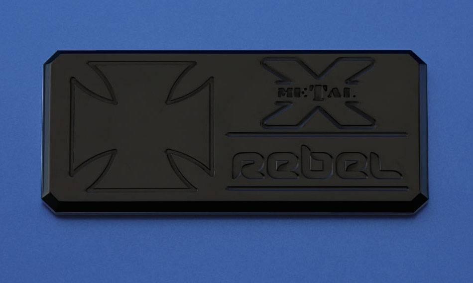 "T-REX Grilles - ALL Most Vehicles ""Rebel"" Series - Body Side Badges - 3 Pc - Black - Pt # 6900031"