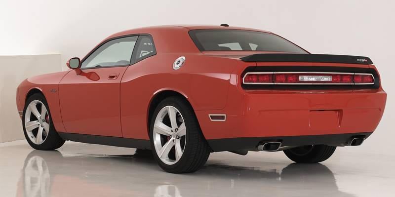 T-REX Dodge Challenger ALL T1 Series Tail Light Trim - Poished Stainless Steel - 4 Pc - Pt # 12416