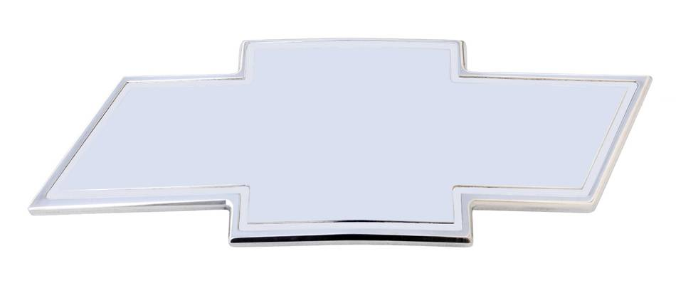 Chevrolet Silverado HD Billet Bowtie - Front- w/Border - Polished - Pt # 19080