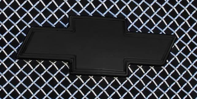 T-REX Grilles - Bowtie with Border, Black, 1 Pc, Bolt-On - PN #19100B