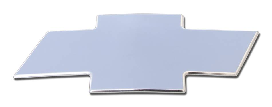 T-REX Chevrolet Silverado HD Billet Bowtie-Front- Plain - Polished - Pt # 19115