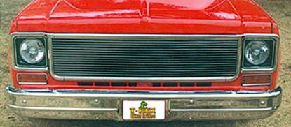 T-REX Grilles - Billet Grille, Polished, 1 Pc, Replacement - PN #20005