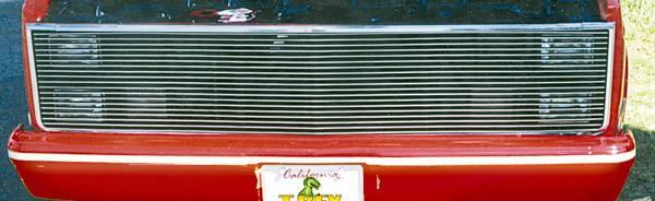 T-REX Grilles - Chevrolet Chevy/GMC PU Phantom Grille Billet - No H/Lamp Recess Needed - Pt # 20010