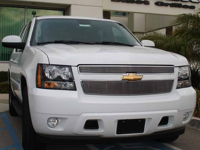Chevrolet Suburban, Tahoe LTZ Billet Grille Insert Easy Install - 2 Pc 6, 11 Bars - Pt # 20051