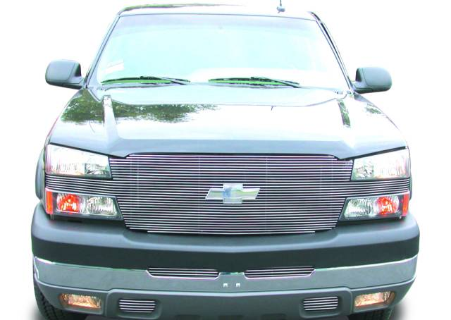 "T-REX Grilles - Chevrolet Silverado ""Full Face"" Billet - Replaces Factory Grille Shell UPS OS3 - Pt # 20101"