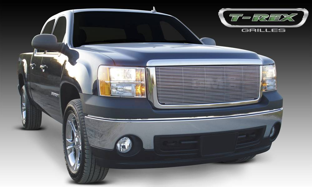 GMC Sierra Billet Grille Insert & Overlay/Bolt On - Pt # 20205