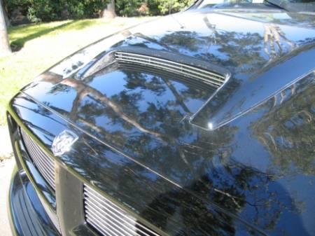 T-REX Grilles - Dodge Ram PU Billet Hood Scoop Insert - Rumble Bee Model 3 Bars - Pt # 20463