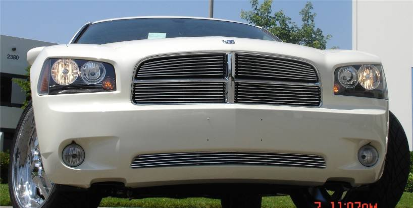 T-REX Dodge Charger Billet Grille Insert - 4Pc - Pt # 20475