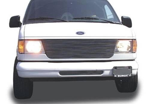 T-REX Grilles - Ford Econoline Van Billet Grille Insert - Replaces Factory Grille Shell 22 Bars - Pt # 20500