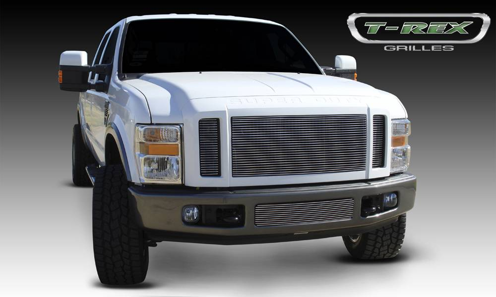T-REX Ford Super Duty Billet Grille Insert - 3 Pc - Pt # 20563