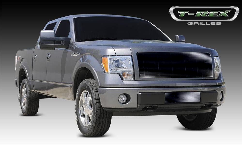 T-REX Grilles - 2009-2012 F-150 Billet Grille, Polished, 1 Pc, Insert - PN #20568