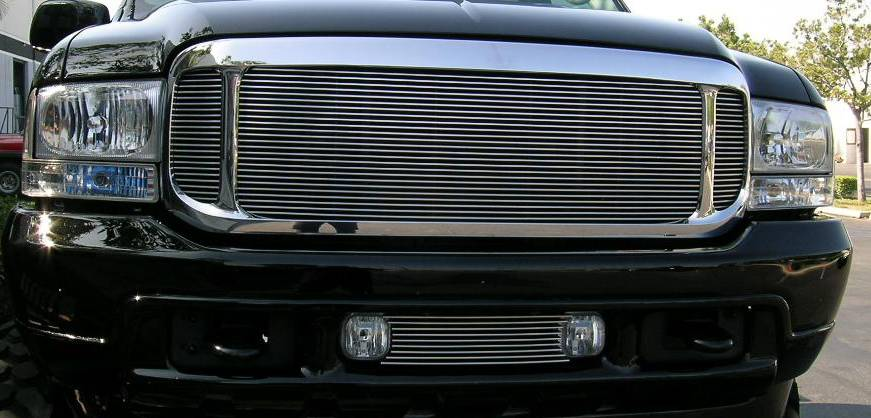 T-REX Grilles - Ford Super Duty Billet Grille Insert - 3 Pc Look Requires Cutting OE grille - Will not fit Excursion - Pt # 20570