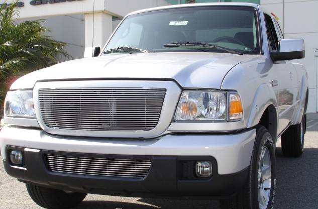 T-REX Grilles - Ford Ranger XLT / FX4 Billet Grille Insert 21 Bars Requires cutting factory bars - Pt # 20661