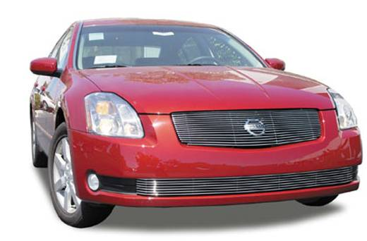 T-REX Grilles - Nissan Maxima Billet Grille Insert - 1 Pc - Replaces Factory Grille Shell 16 Bars - Pt # 20750