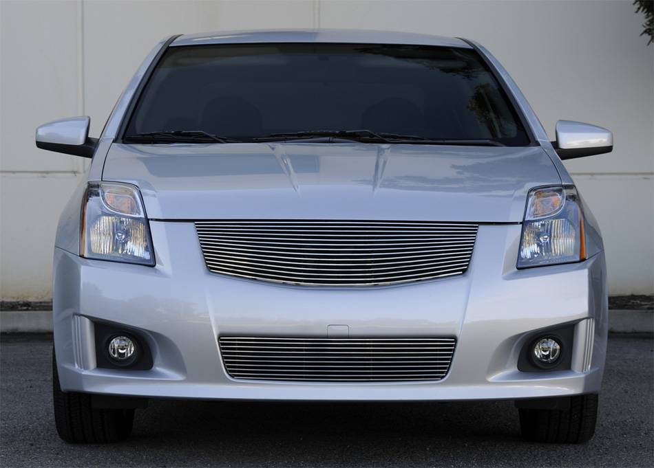 Nissan Sentra 2.0 SR, SE-R Billet Grille Insert - fits vehicles w/ Sport Grille and Sport fascia - Replaces OE Grille - Pt # 20764