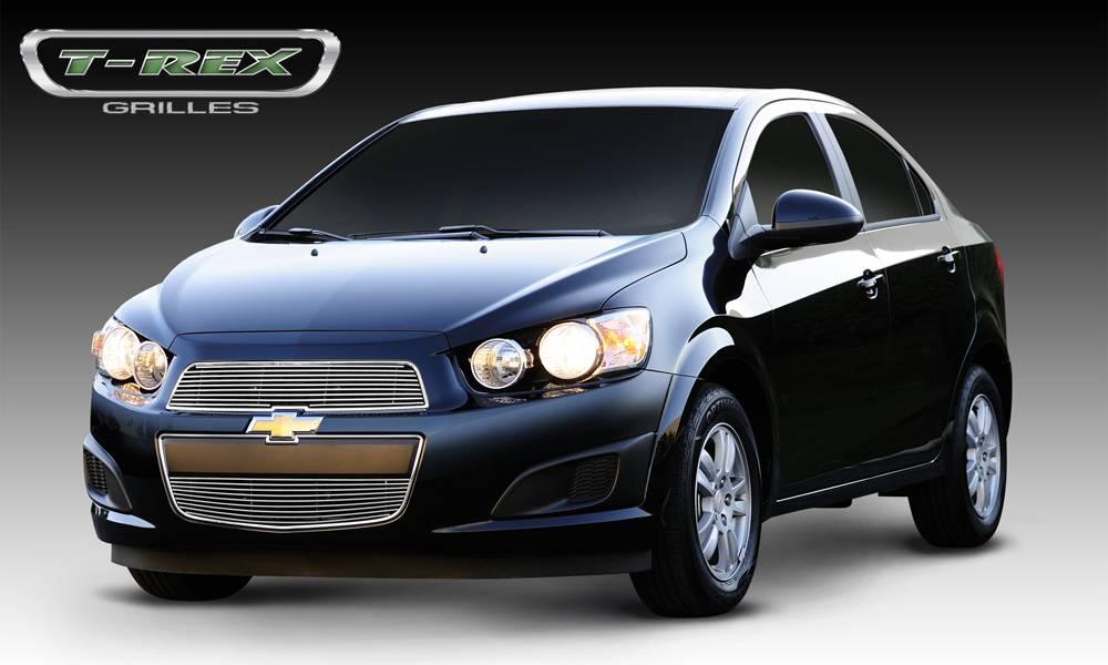T-REX Grilles - Chevrolet Sonic Billet Grille Overlay - 2 Pc - Pt # 21132