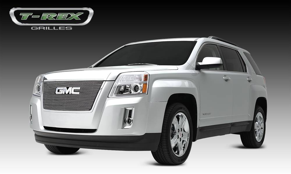 T-REX GMC Terrain Billet Grille Overlay/Bolt On - 1 Pc - W/ Logo Opening - Pt # 21153