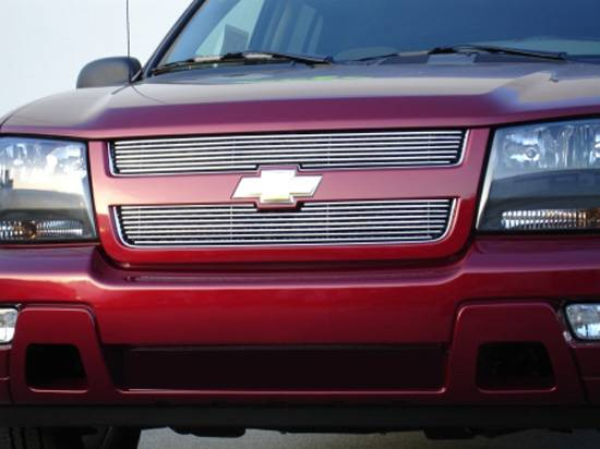 T-REX Grilles - Chevrolet Trailblazer LT   Billet Grille Overlay/Bolt On - 2 Pc 6, 11 Bars - Pt # 21283