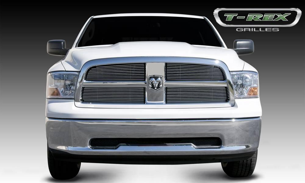 T-REX Grilles - Dodge Ram PU 1500 Billet Grille Overlay - Polished - 4 Pc - Pt # 21456