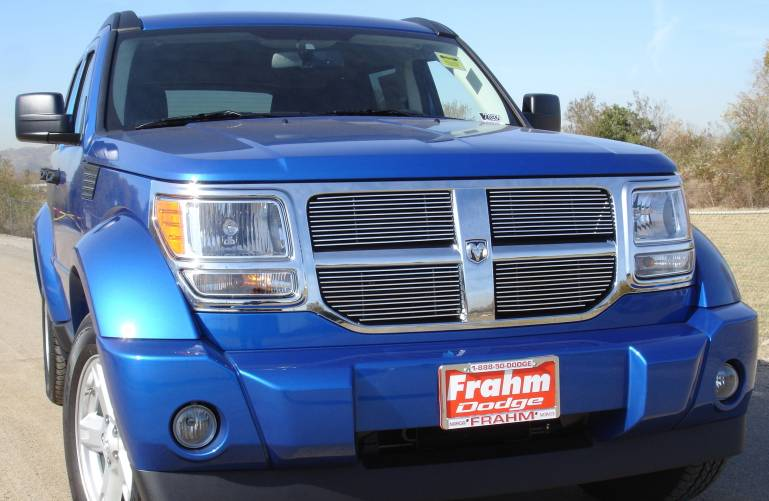 T-REX Dodge Nitro Billet Grille Overlay/Bolt On - 4 Pc - Pt # 21478