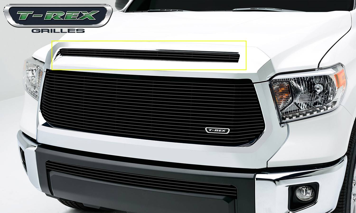 T-REX Grilles - 2014-2019 Tundra Billet Grille, Black, 1 Pc, Overlay - PN #21964B