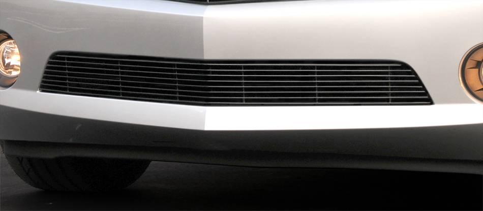 T-REX Grilles - Chevrolet Camaro RS Bumper Billet Grille RS, LS, LT Models - All Black - Pt # 25027B