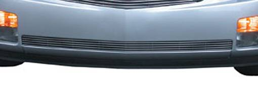 T-REX Grilles - 2003-2007 Cadillac CTS Billet Bumper Grille, Polished, 1 Pc, Overlay - PN #25192