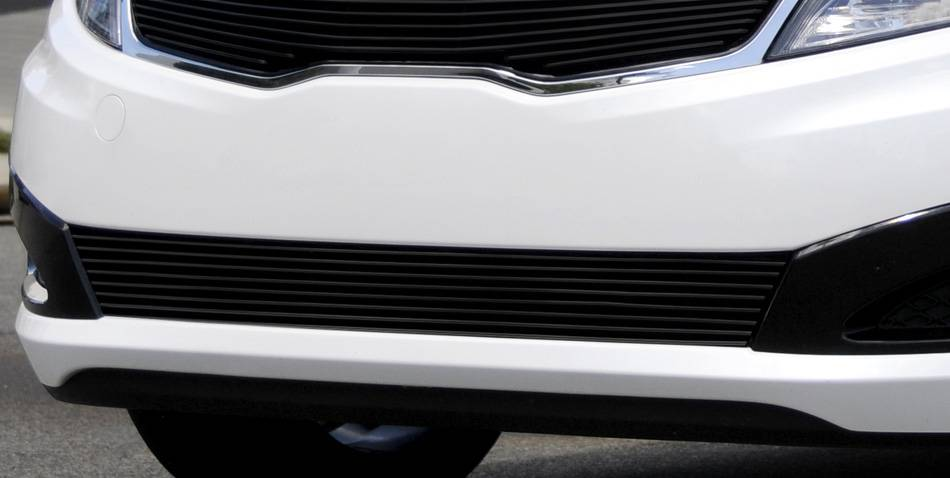T-REX Grilles - Kia Optima Bumper Billet Grille - All Black - Pt # 25320B