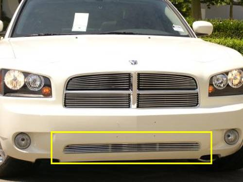 T-REX Dodge Charger Bumper Billet Grille 4 Bars - Pt # 25474