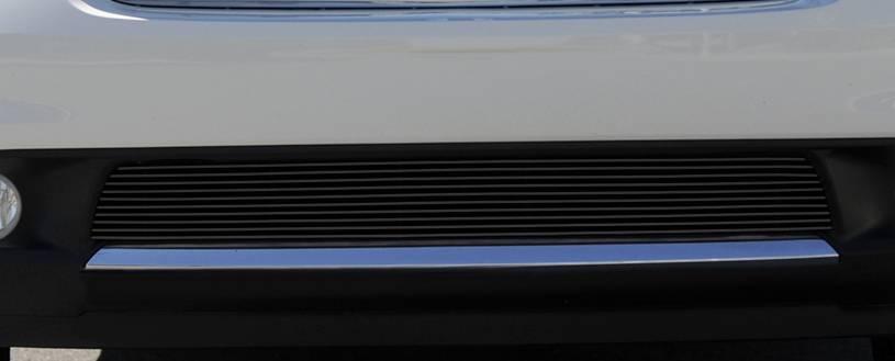 T-REX Grilles - Dodge Durango Bumper Billet Grille - All Black - Pt # 25492B
