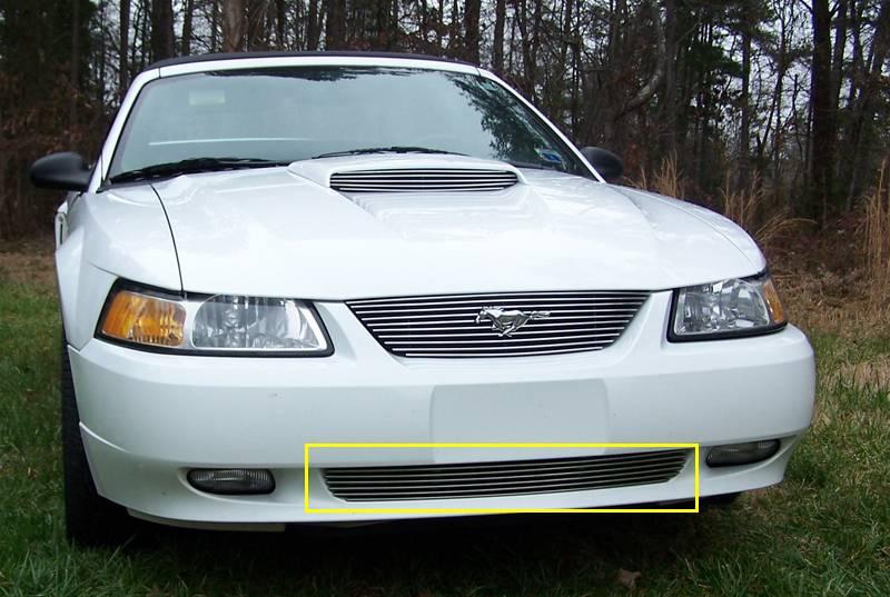 T-REX Ford Mustang Bumper Billet Grille Insert 6 Bars - Pt # 25511