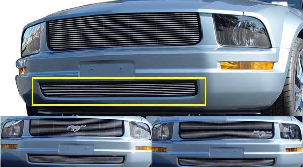 T-REX Ford Mustang LX Bumper Billet - LX Models 7 Bars - Pt # 25515