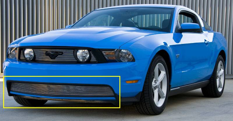 T-REX Ford Mustang GT Bumper Billet Full Opening Design - GT Models - Pt # 25519