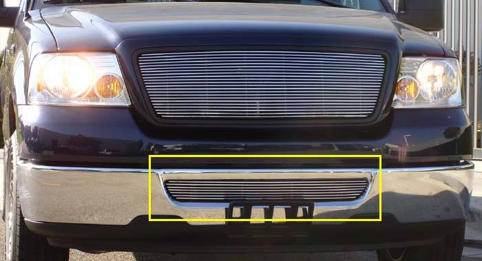 T-REX Grilles - Ford F150 All Models Bumper Billet Grille Insert - Pt # 25555