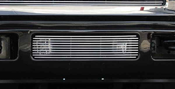 T-REX Grilles - 2005-2007 Super Duty, Excursion Billet Bumper Grille, Polished, 1 Pc, Bolt-On - PN #25561
