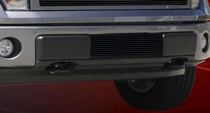 T-REX Grilles - Ford F-150 Bumper Billet Grille Insert - All Black - Pt # 25569B