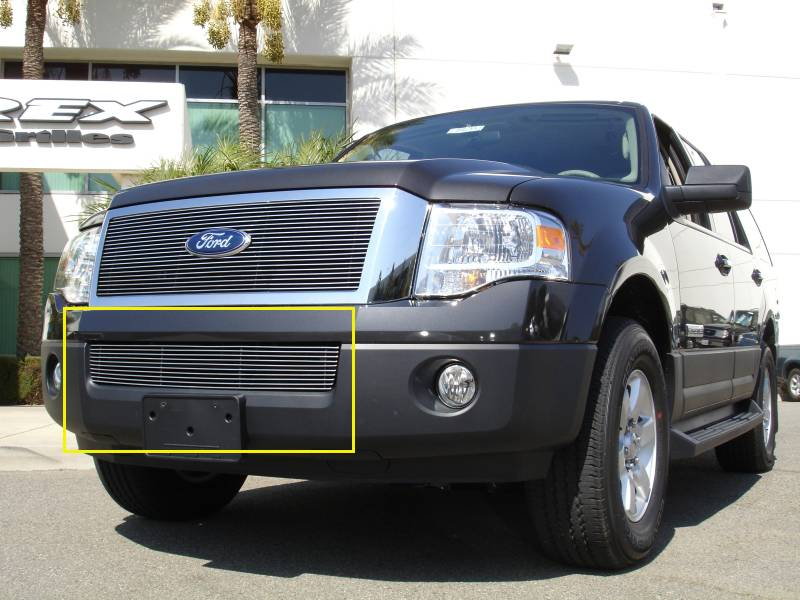 T-REX Ford Expedition Bumper Billet Grille 11 Bars - Pt # 25594