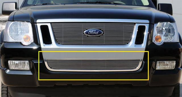 T-REX Ford Explorer Sport Trac Bumper Billet Grille Insert - Pt # 25662