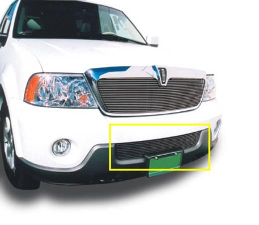 T-REX Grilles - Lincoln Navigator Bumper Billet Grille Insert 10 Bars - Pt # 25696
