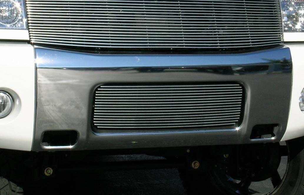 Nissan Titan Bumper Billet Grille Insert 16 Bars - Pt # 25780