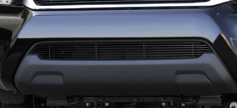 T-REX Grilles - Toyota Tacoma Bumper Billet Grille Insert - All Black - Pt # 25938B