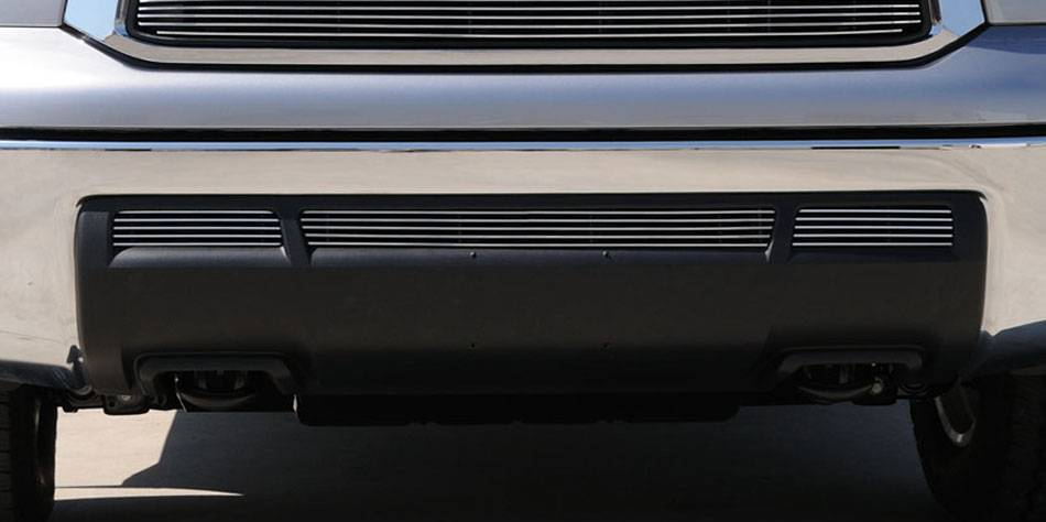 T-REX Grilles - 2010-2013 Tundra Billet Bumper Grille, Polished, 3 Pc, Overlay - PN #25961