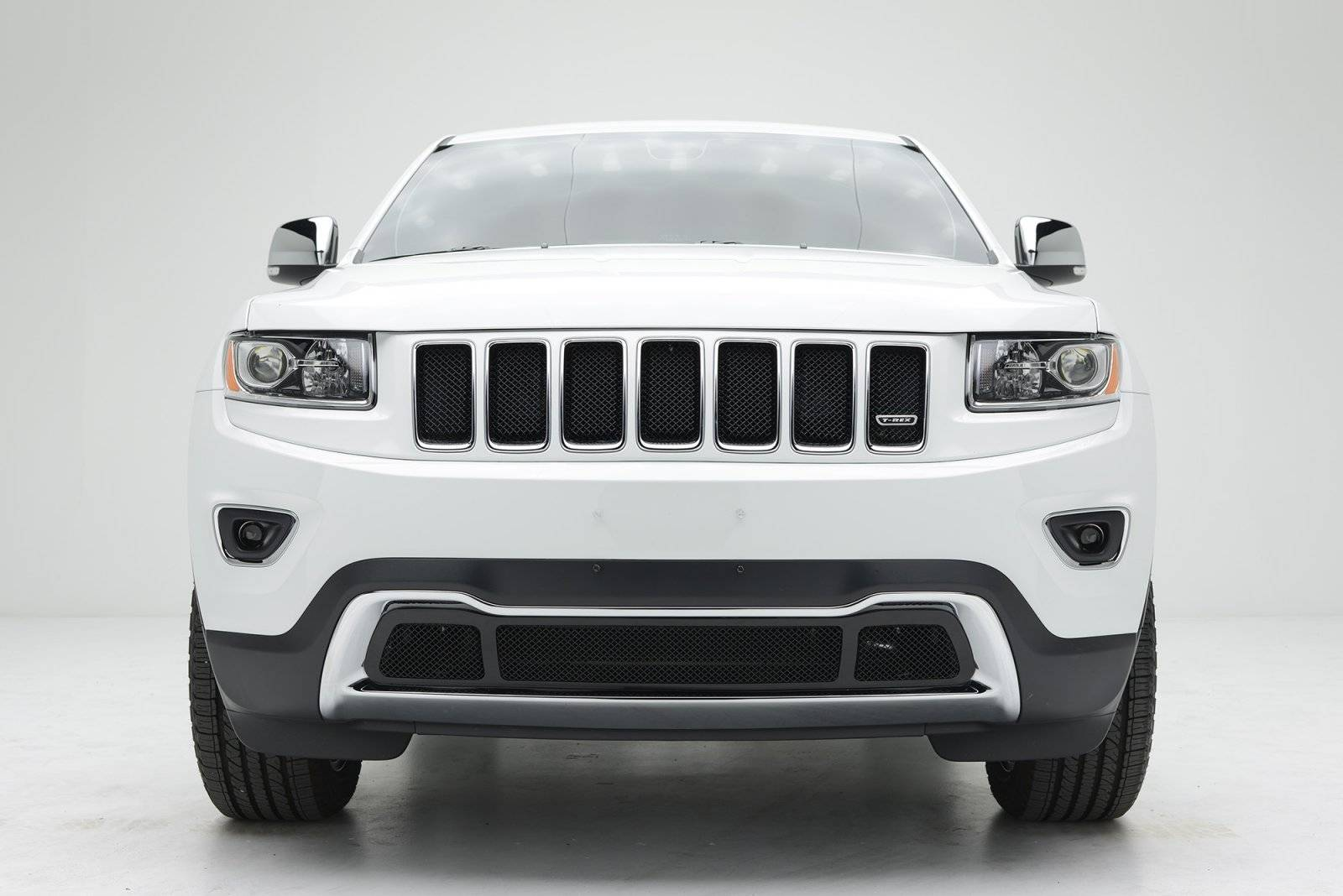 T-REX Grilles - 2014-2015 Jeep Grand Cherokee Sport Grille, Black, 1 Pc, Bolt-On - PN #46488